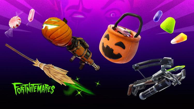 Fortnitemares fortnite halloween event