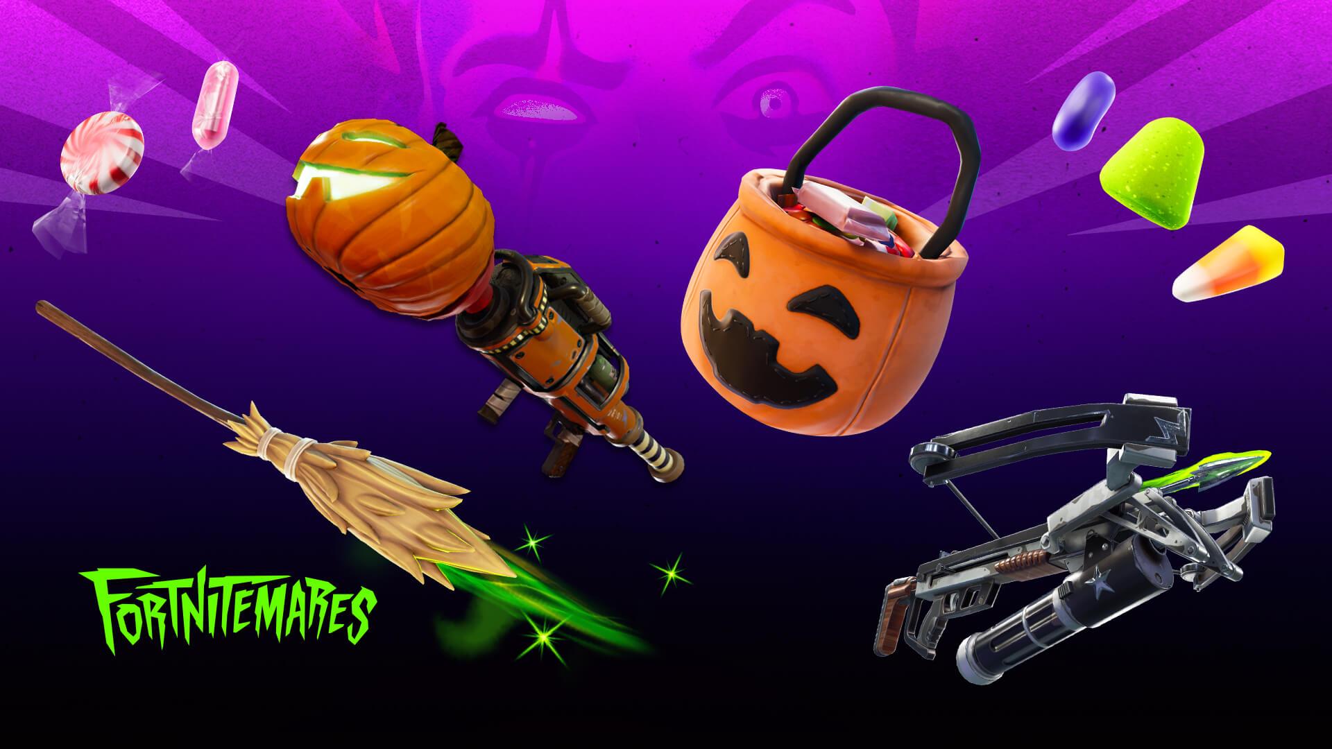 Fortnite Halloween Fortnitemares Event Kicks Off Today October 21