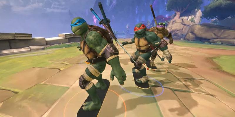 Teenage Mutant Ninja Turtles Smite