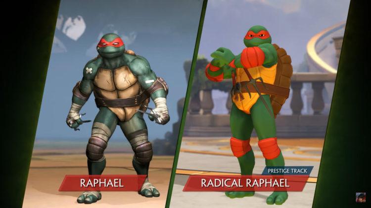 Teenage Mutant Ninja Turtles Smite Variants
