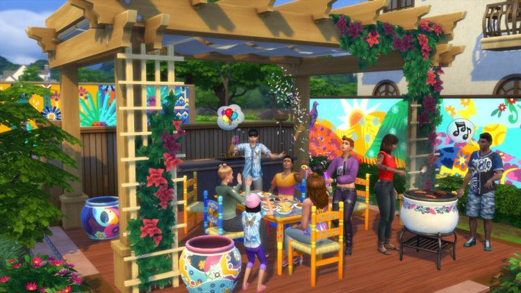 The Sims 4 Latin