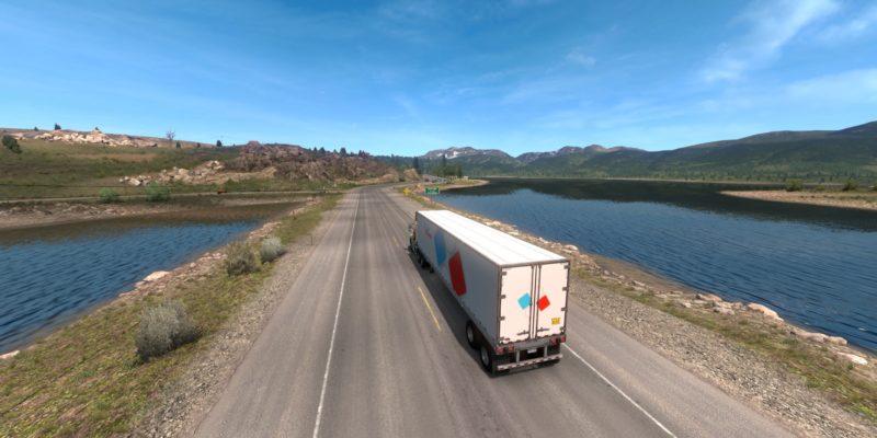 American Truck Simulator Colorado Opener