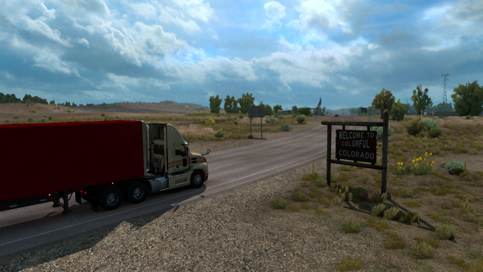 American Truck Simulator Colorado Welcome