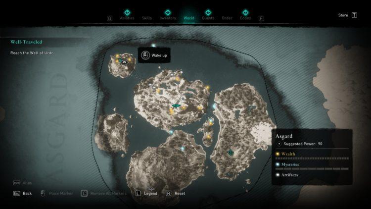 Assassin's Creed Valhalla Asgard Seer's Hut 3