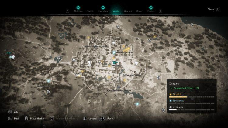 Assassin's Creed Валгалла Скрытые бюро Скрытые Кодекс доспехов Страницы 3a