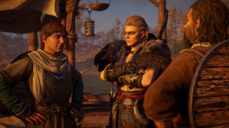 Assassin's Creed Valhalla Companions Raiding Crew 2а