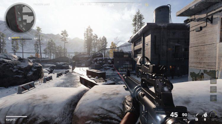Black Ops Cold War M16 Gameplay 2