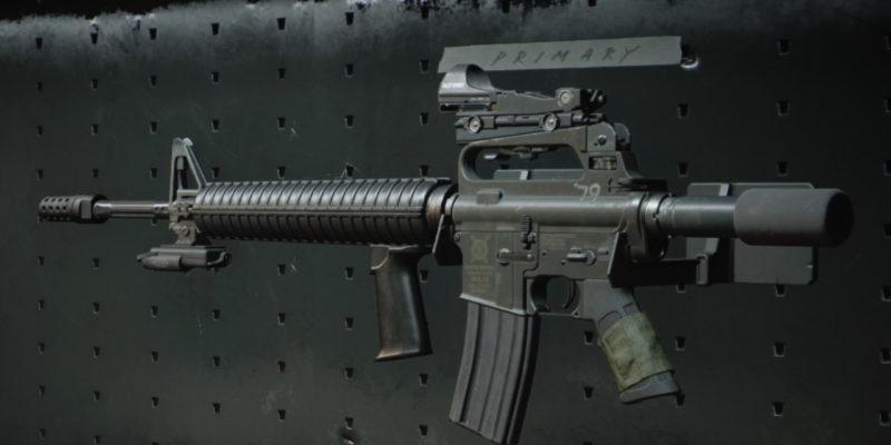 Black Ops Cold War M16 Loadout