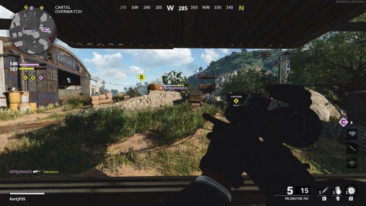 Multiplayer pellington sniper game