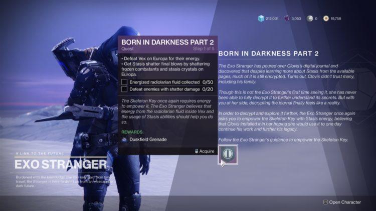 Destiny 2 Beyond Light Born In Darkness Quest Guide 1d