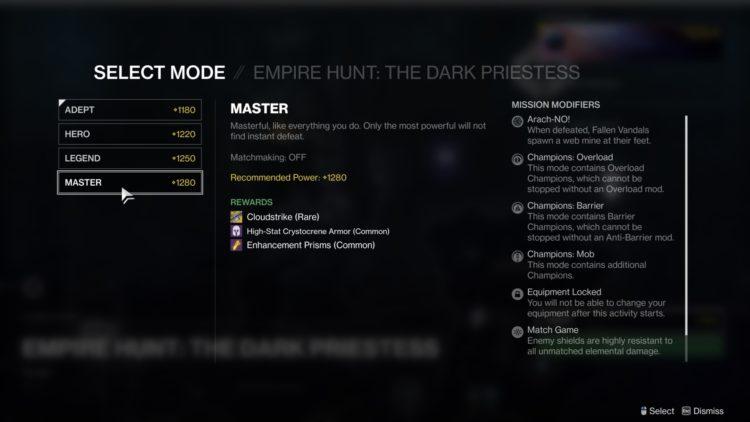 Destiny 2 Beyond Light Master Empire Hunt Guide 2