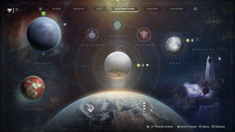 Destiny 2 Beyond Light What's New 1