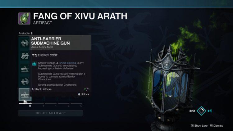 Fang Of Xivu Arath 2