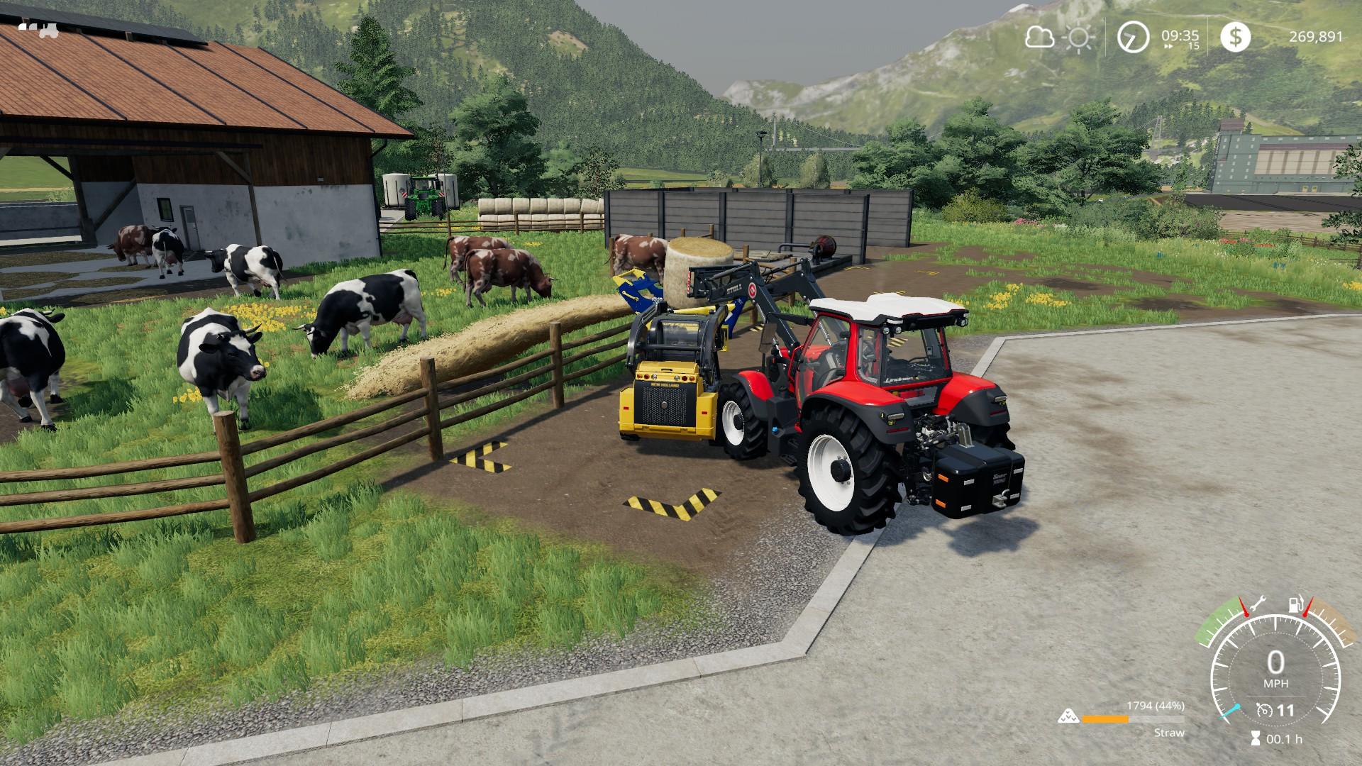 Farming Simulator 19 Alpine Expansion Linitrac 130