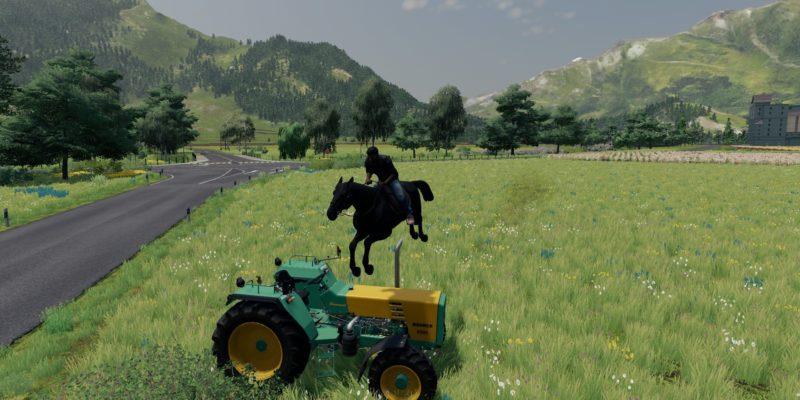 Farming Simulator Alpine Expasnion Horsepower