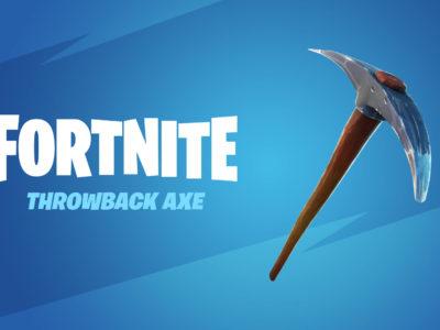 Fortnite Throwback Pickaxe