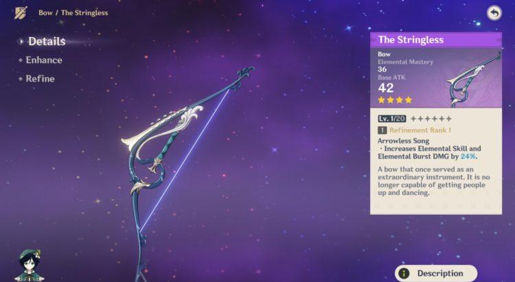 Genshin Impact Venti Guide Weapons Artifacts Talents 1