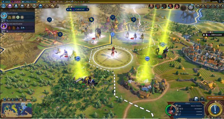 Heroes & Legends Mode Civilization Vi New Frontier Pass Babylon Pack Civilization 6 1