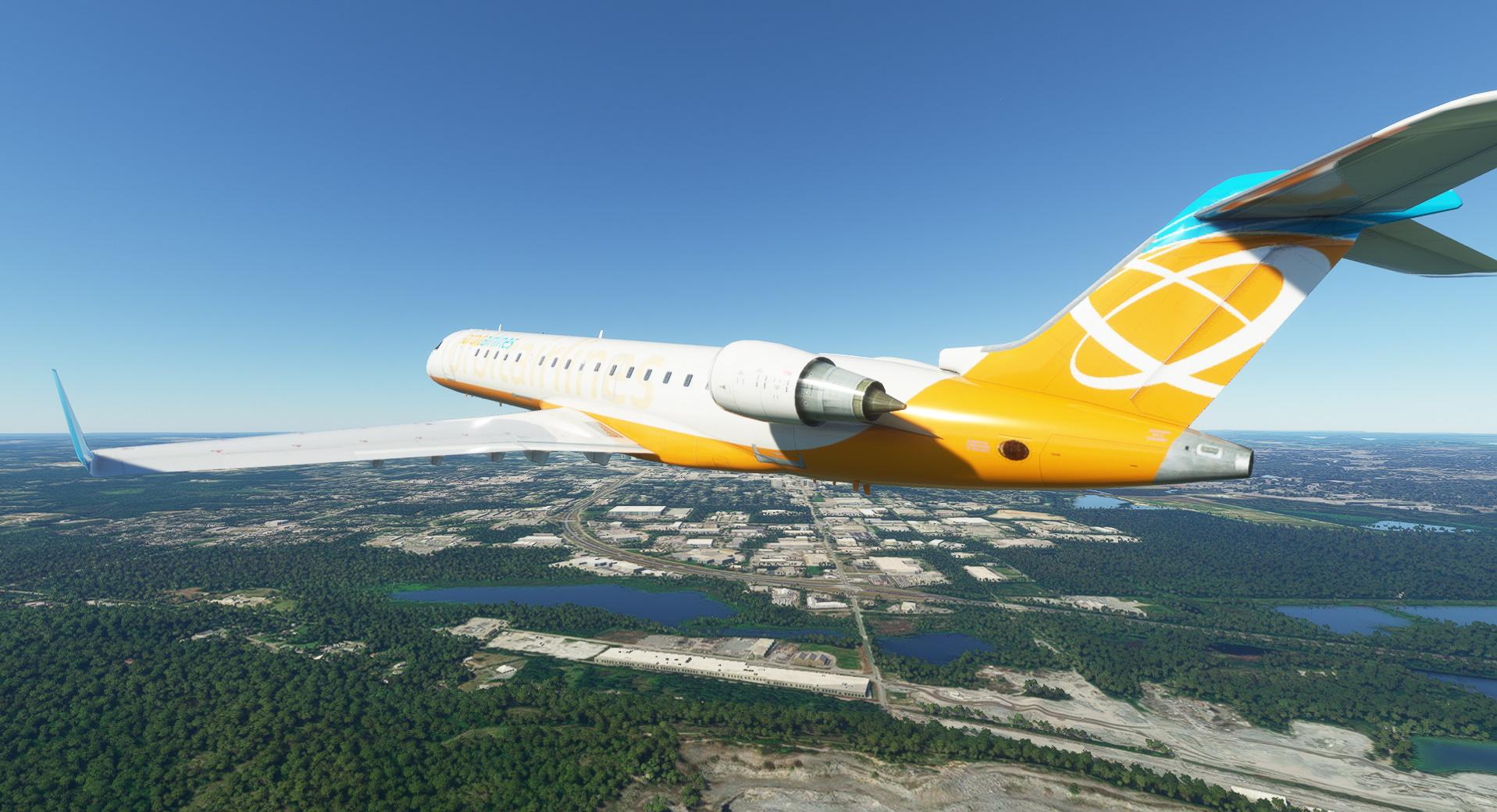 Microsoft Flight Simulator Bombardier Crjj 700 Fsx Mod