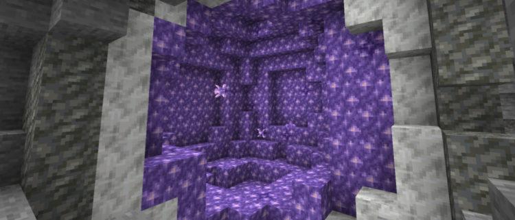 Minecraft Amethyst Geode