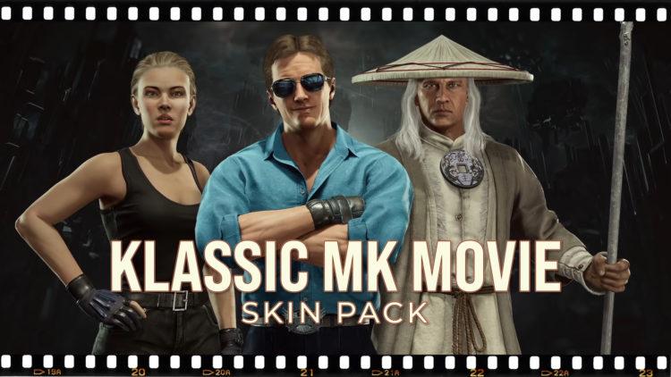 Mortal Kombat 11 Klassic Mk Movie Skin Pack Reveal Trailer