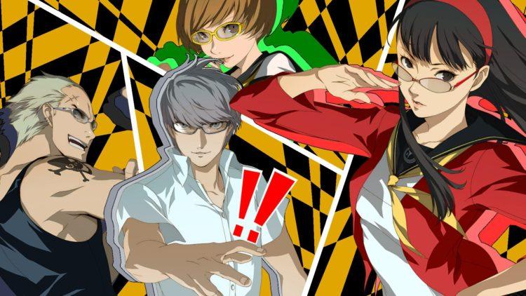 Persona 4 Golden All Out Attack Sega