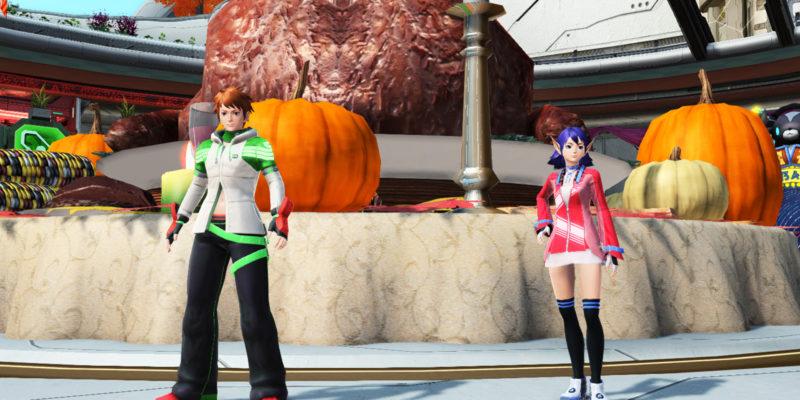 Phantasy Star Online 2 Thanksgiving