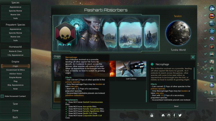 Stellaris Necroids Species Pack Review Is It Worth It Necrophage Origin 2a
