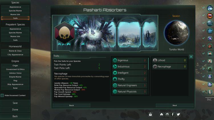 Stellaris Necroids Species Pack Review Is It Worth It Necrophage Origin 2b