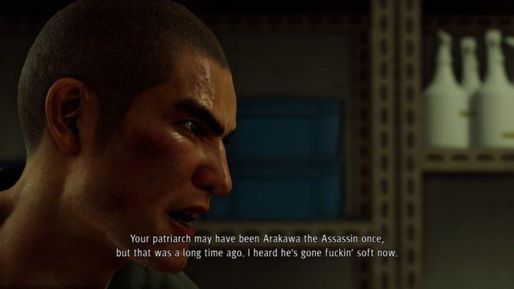 Yakuza Like A Dragon English