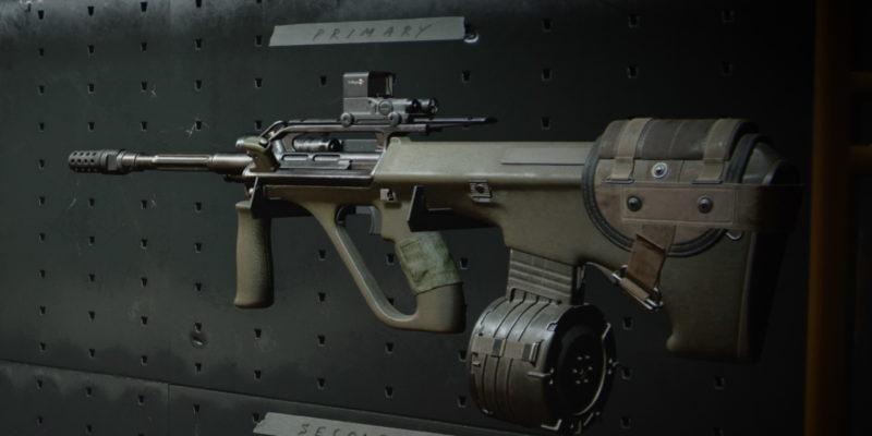 Black Ops Cold War Aug Gunsmith