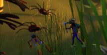 Grounded Koi Pond Update Diver1
