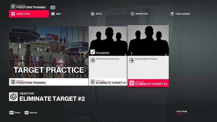 Mission Target Practice