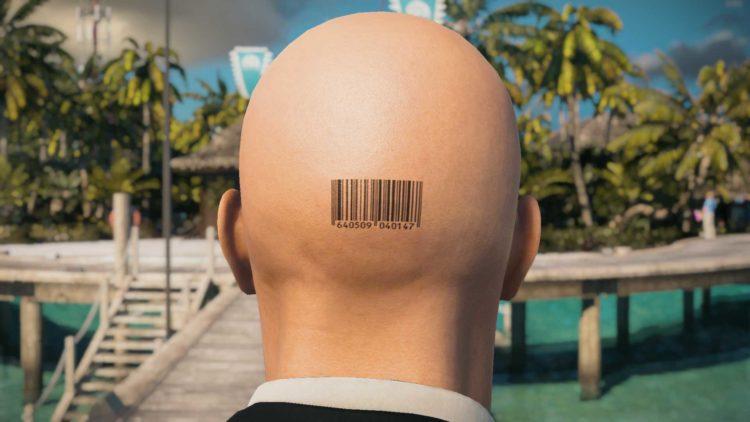 Numbered Barcode Hitman 2 Mods