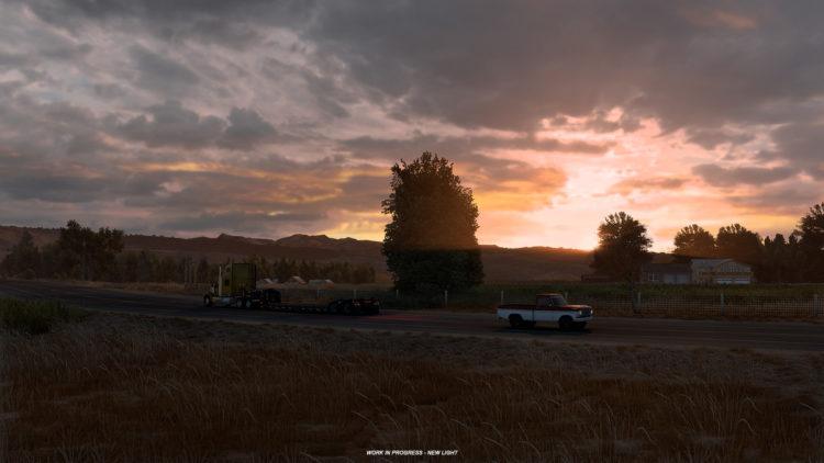 American Truck Simulator wyoming Dlc will see graphic overhaul 1