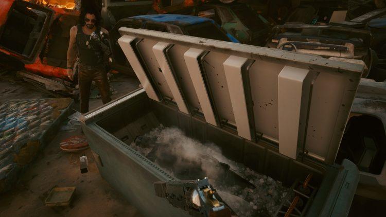 Cyberpunk 2077 Dexter's Gun Plan B Nix Sidequest Spellbound 4