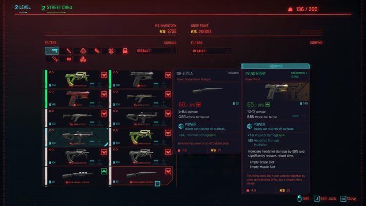 Cyberpunk 2077 Beginner's Guide Tips 3b