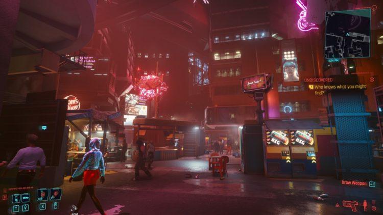 night city japan town gameplay