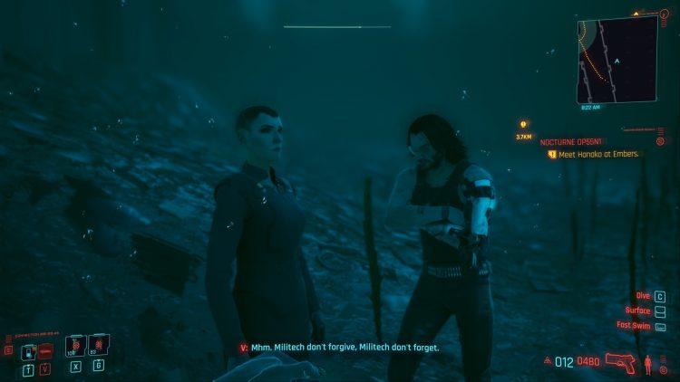 Cyberpunk 2077 Meet Meredith Stout Again 1