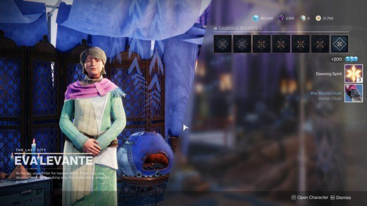 Destiny 2 Dawning Spirit Guide 1