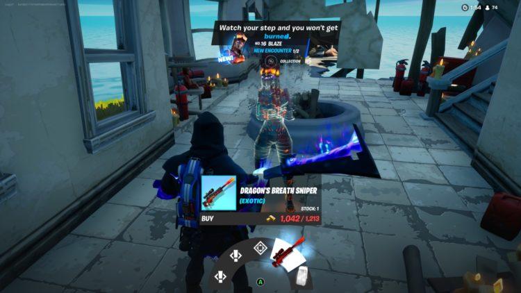 Fortnite Dragon's Breath Sniper