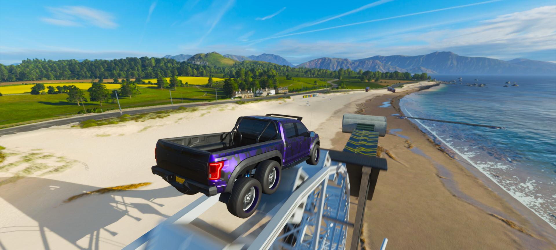 Forza Horizon 4 Ford Velociraptor Climbin 2