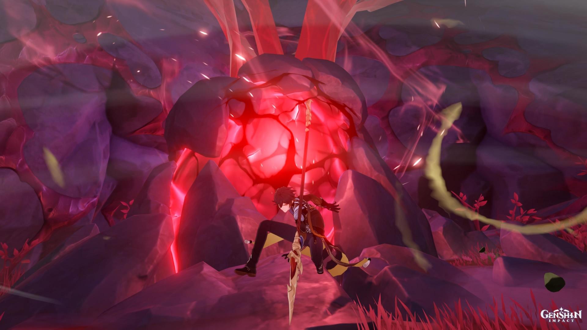 Genshin Impact Dragonspine Spear Festering Fang Strange Tooth