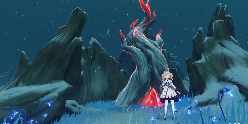 Genshin Impact Frostbearing Tree Crimson Wishes Crimson Agate