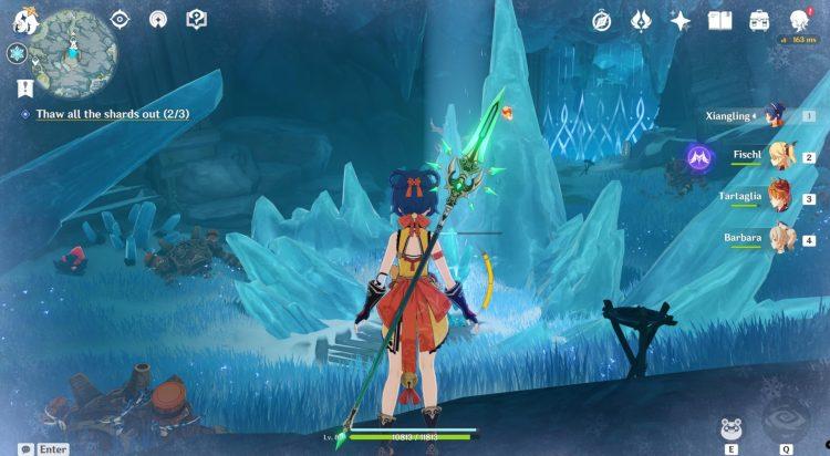 Genshin Impact Unlock Peak Of Vindagnyr Domain In The Mountains Quest 1d