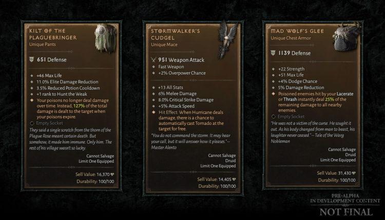 Latest Diablo Iv Developer Update Spills The Beans On Itemization (3)