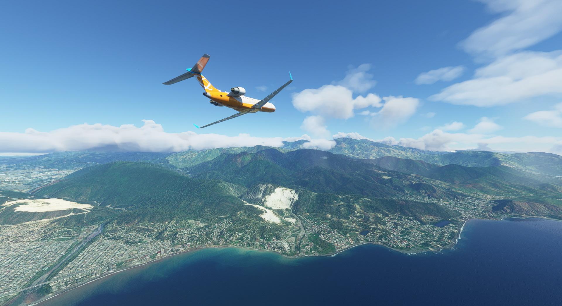 Microsodt Flight Simulator Crj 700 Over Cuba