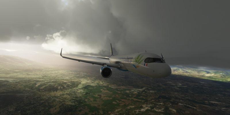 Microsoft Flight Simulator A320 Landing In Stormy Haiti 2
