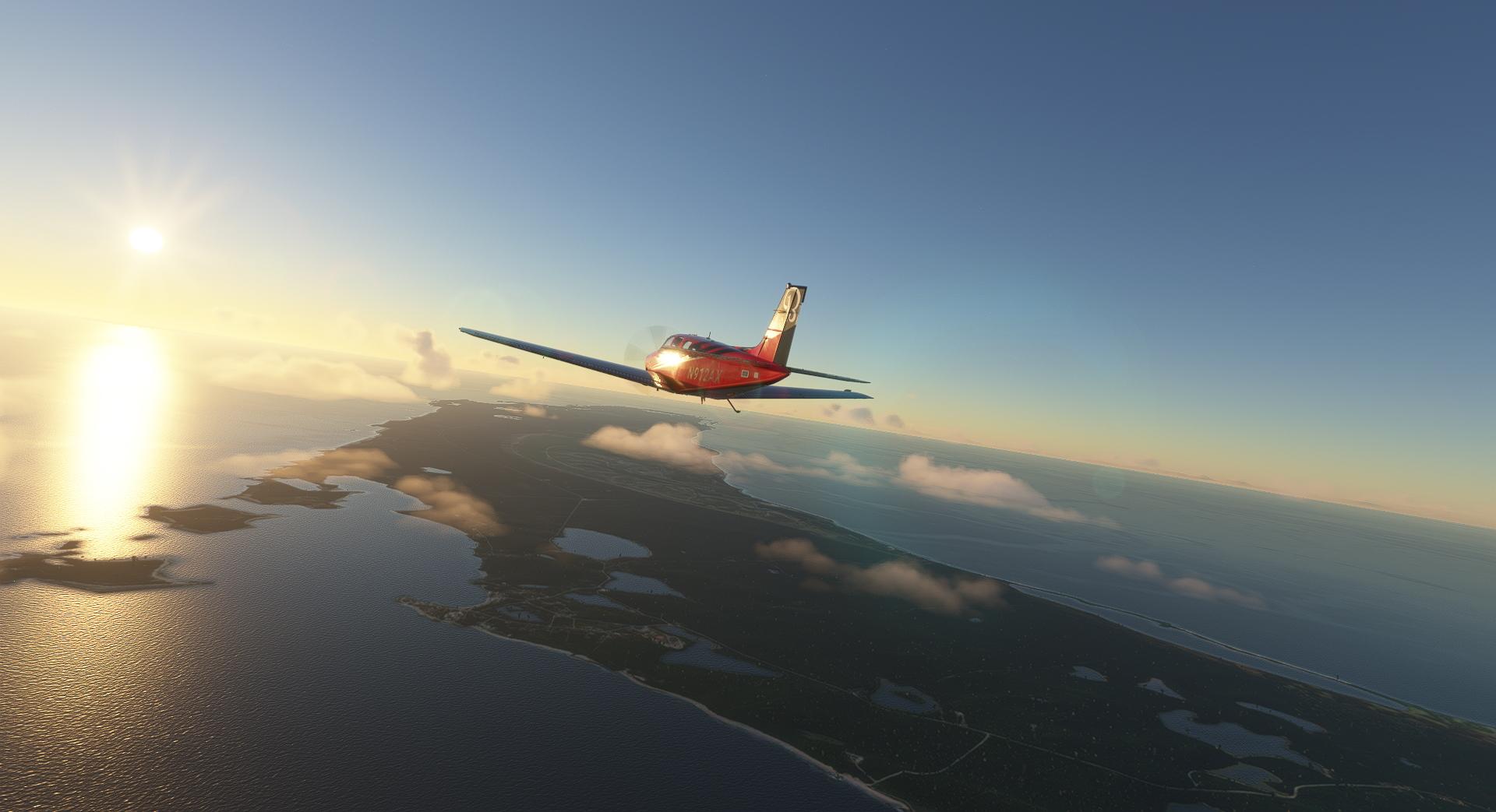 Microsoft Flight Simulator Bonanza In The Bahamas