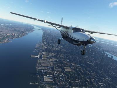 Microsoft Flight Simulator Caravan Nyc
